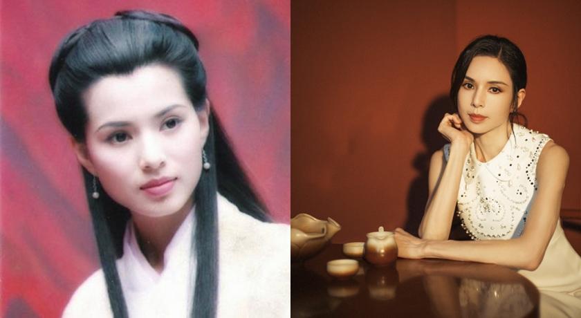 54歲李若彤穿回17歲同款校服!「最美小龍女」身材管理讓全網跪了