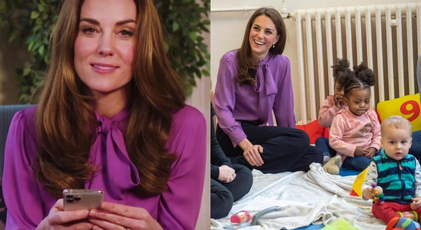 凱特王妃重現經典造型!專屬訂製款全靠「衣服反著穿」?