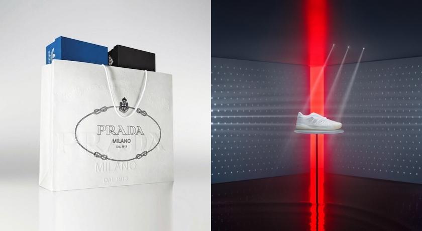 Prada × adidas聯名再登場!經典三條線卻「只剩下一條」?