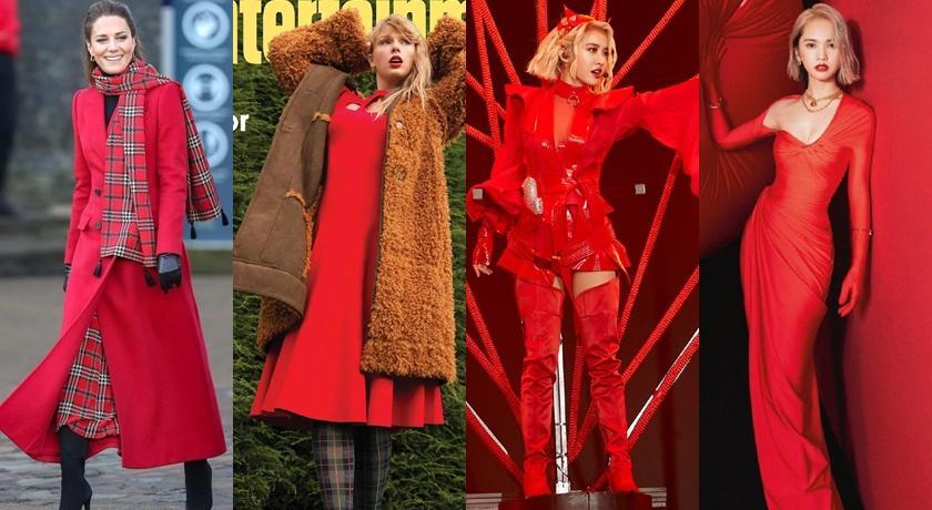 從蔡依林到英國女王都在穿「辣椒紅」!單一顏色上身氣場狂飆