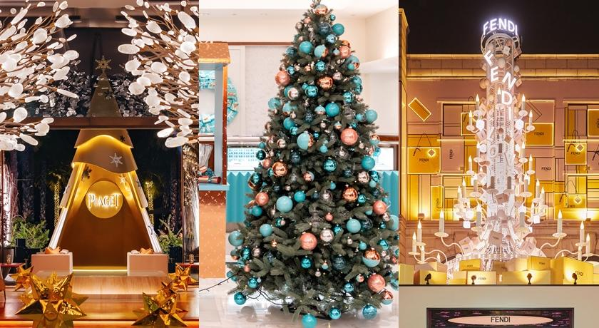 精品打造超狂 12 公尺高「耶誕樹」!要站很遠才有辦法同框