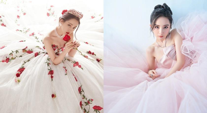 中國活動成「婚紗特展」?楊冪、熱巴禮服吸睛,楊紫被虧「親母款」
