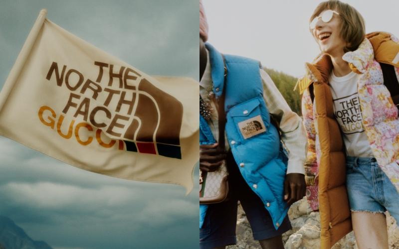 最時髦羽絨衣來了!The North Face × Gucci超狂印花吸睛