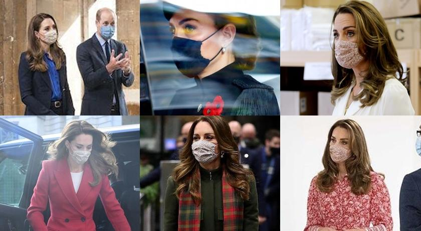 網特製「凱特王妃口罩圖」集錦!慰問陷變種病毒肆虐的英國