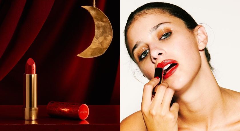 Gucci「秒殺唇膏」新年限量版來了!紅管刻紋+特調色全台限量75支