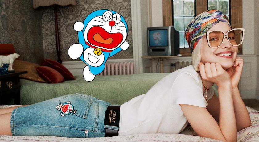 「哆啦A夢」陪過農曆新年!Gucci限時店月底台灣登場