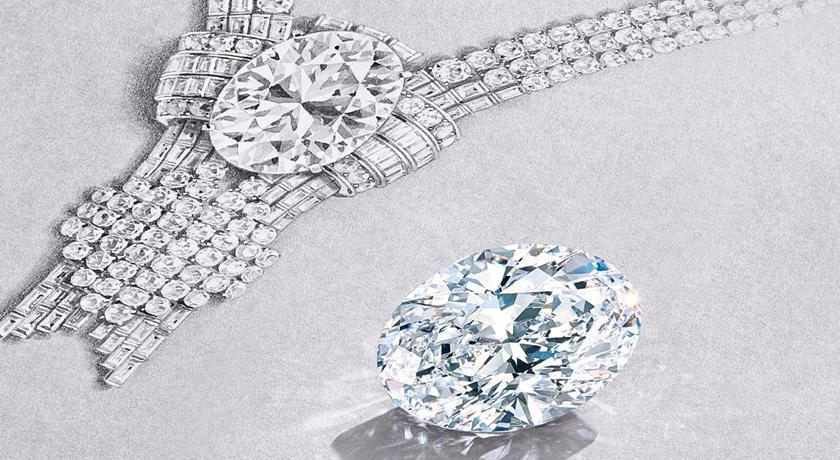 Tiffany 購得史上「最大顆白鑽」!2022 將曝光品牌迷超期待