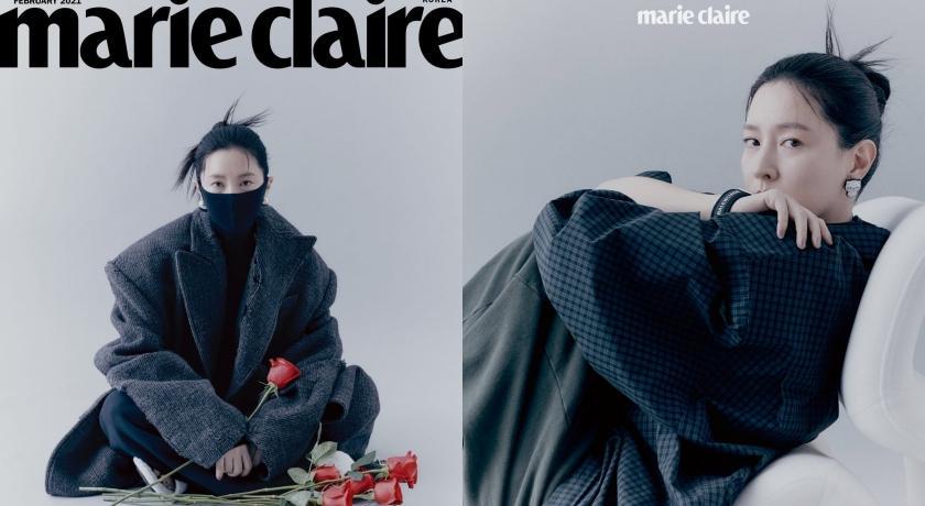 50 歲看起來像 30 歲!李英愛「戴口罩登封面」凍齡驚豔全網