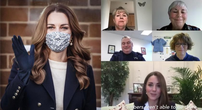凱特王妃視訊曝光「全新造型」!氣質升級、逆齡效果超吸睛