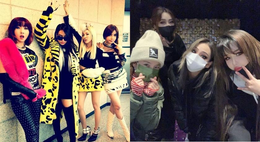 2NE1解散五年重聚首!粉絲感動狂敲碗求合體