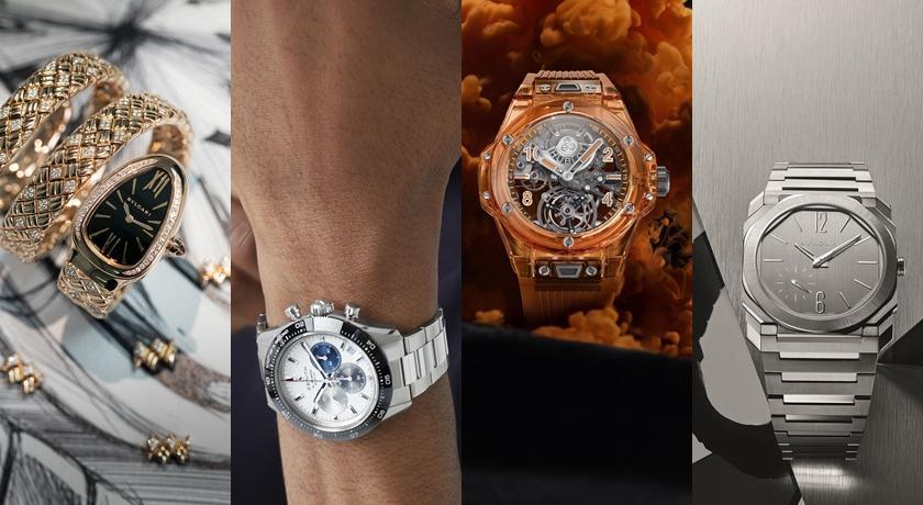 線上逛鐘錶週!吳亦凡戴新錶成全球第一人、冰橙色腕錶美翻