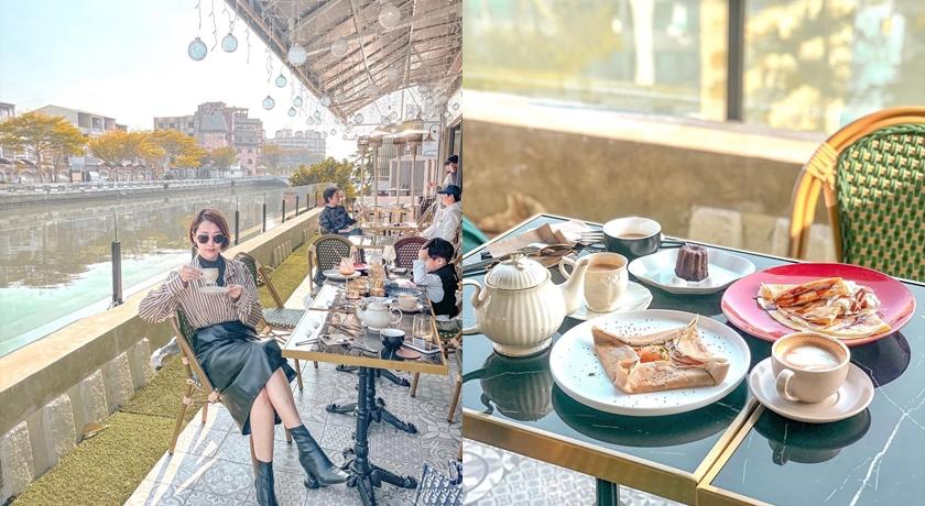 「台版塞納河畔」在台南!全新咖啡館神似《艾蜜莉在巴黎》場景