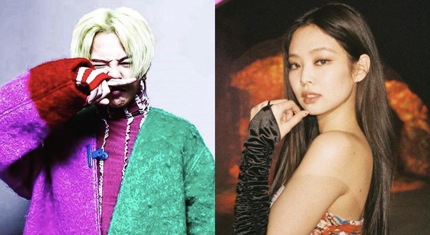 韓國超強狗仔驚爆!G-Dragon、Jennie 熱戀中已交往一年了