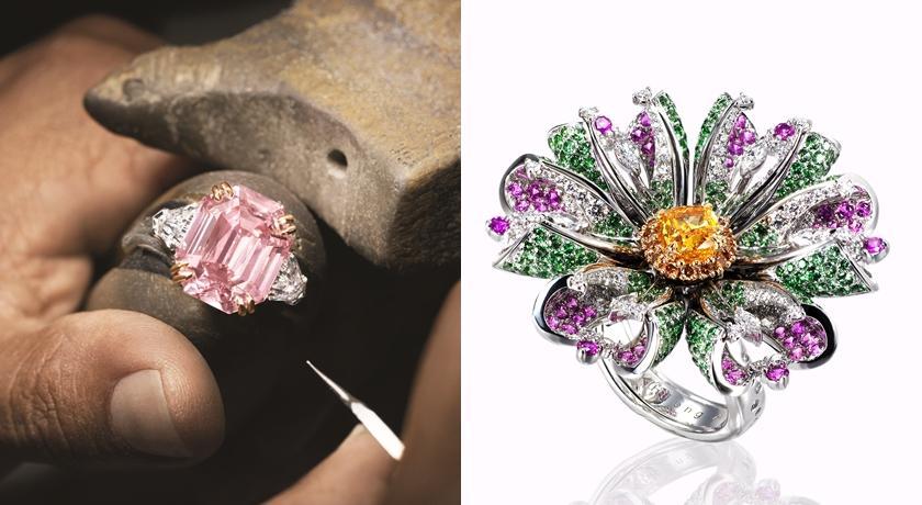 彩色鑽石比鑽石更貴!發現大克拉數「粉鑽」做成戒指超霸氣