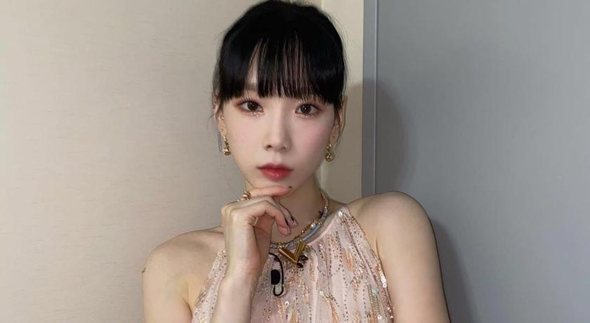 太妍錄節目穿有夠辣!裙襬開衩逼「絕對領域」粉絲喊:危險