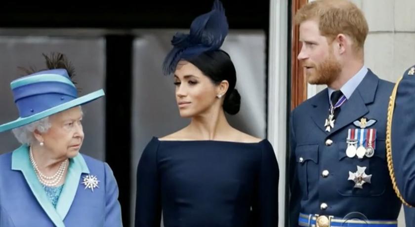 心疼梅根遭受「黛安娜之苦」!哈利:很多事情女王都知道