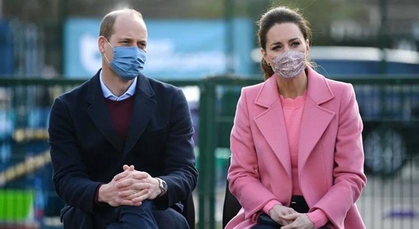 威廉王子首度正面回應:我們不是種族主義者!凱特王妃「溫柔粉」相挺