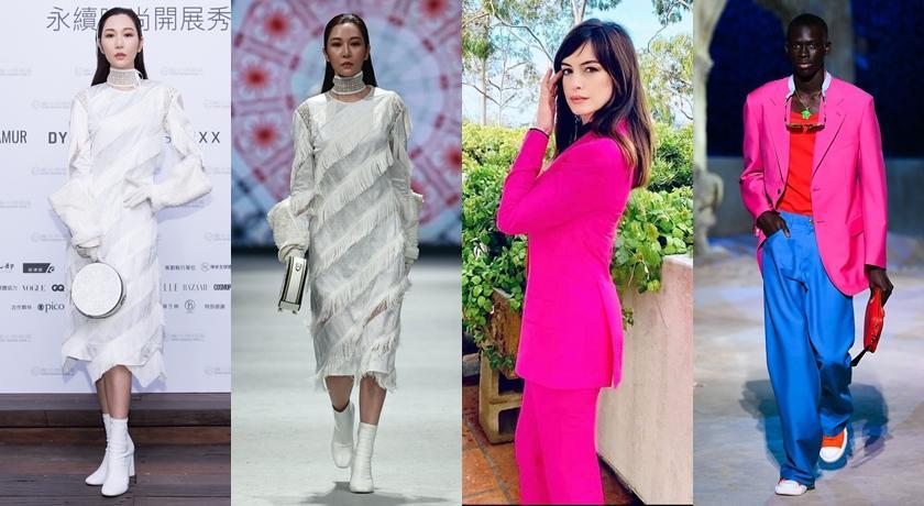 【時尚前後台Top 5】蔡依林「緊身爆乳裝」辣爆、安海瑟薇穿的竟是男裝