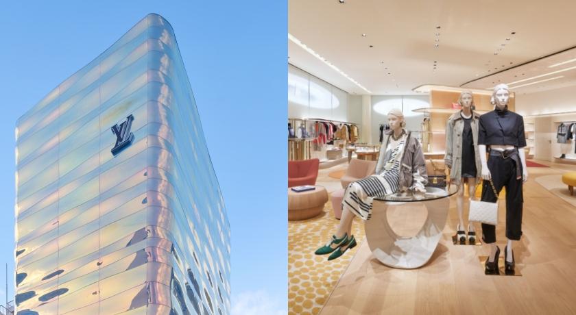 LV翻新40年銀座老店!絕美「夢幻水柱」頂樓還藏甜蜜驚喜