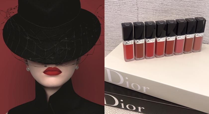 接吻口紅鎖色、輕盈只能二選一?DIOR 不做選擇「不沾染唇露」全都可以!