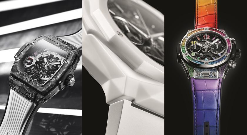 白色控注意!白陶瓷腕錶「超強立體切面」每個角度看都好美