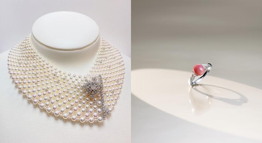 珍珠竟能變成這樣!台幣一千六百萬「珍珠織網」項鍊抵台