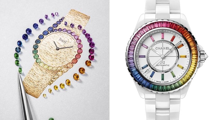 2021WW》錶圈、錶帶竟出現一整圈「彩虹」!太值得收藏了