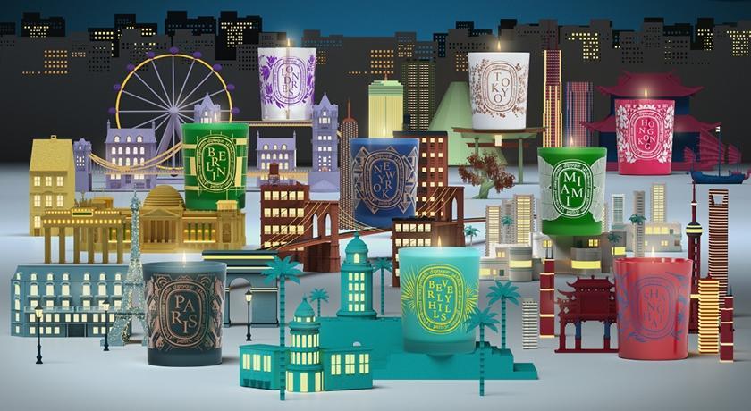 巴黎、紐約、東京聞起來都不一樣?史上最難買 DIPTYQUE「城市限定蠟燭」快閃獨賣