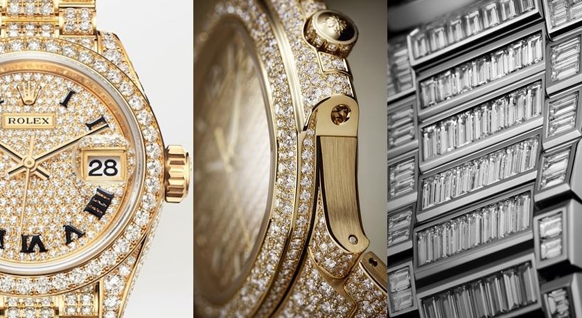 2021WW》把眼睛閃瞎的「全鑽錶」!360 度滿滿都是鑽石
