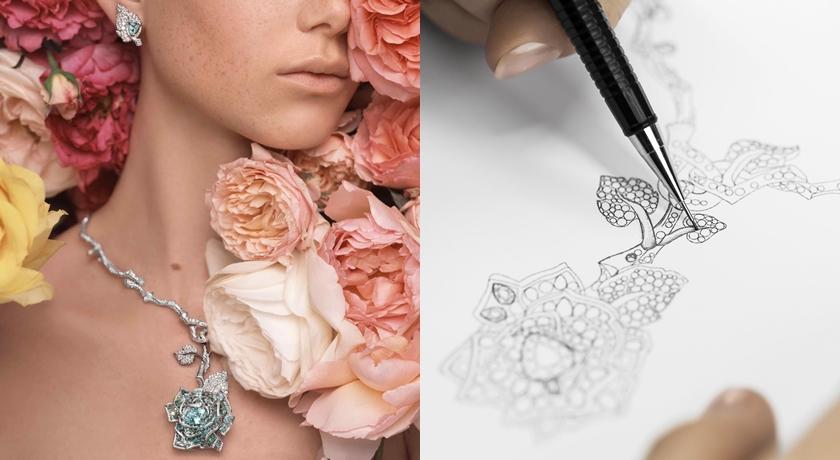 把「擬真玫瑰」珠寶戴在身上!靠近一點好像還聞的到花香味