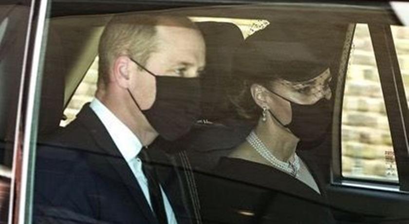 菲利普親王喪禮威凱率先露面!凱特王妃佩戴「女王項鍊」致敬