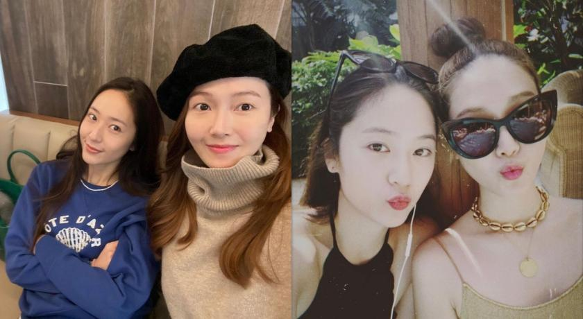 韓國最美姊妹合體!Krystal出賣與Jessica「泳裝合照」美翻了