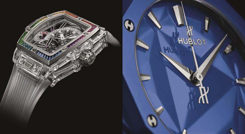 超少見「深邃藍」腕錶!竟是硬度直逼鑽石的「陶瓷」打造