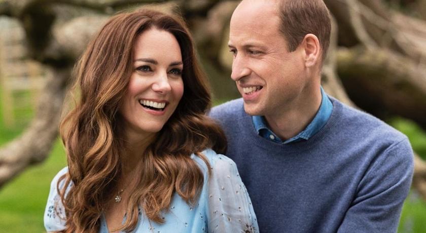 威廉王子、凱特王妃結婚十週年放閃!發新照「2個字」曬恩愛