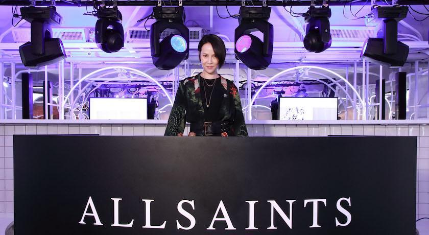 AllSaints春日開派對!茄子蛋後台搶衣服穿、楊乃文衣櫃都是黑色的?