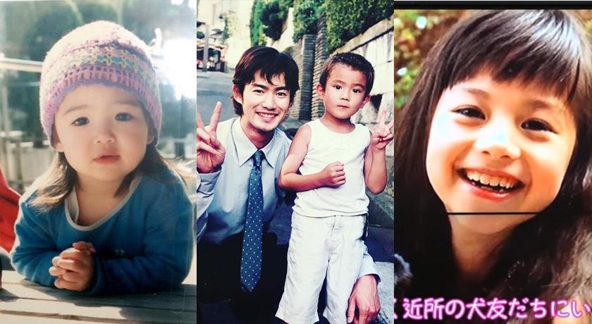 日本大明星「童年照」都被挖了出來!橋本環奈、濱邊美波根本是小天使