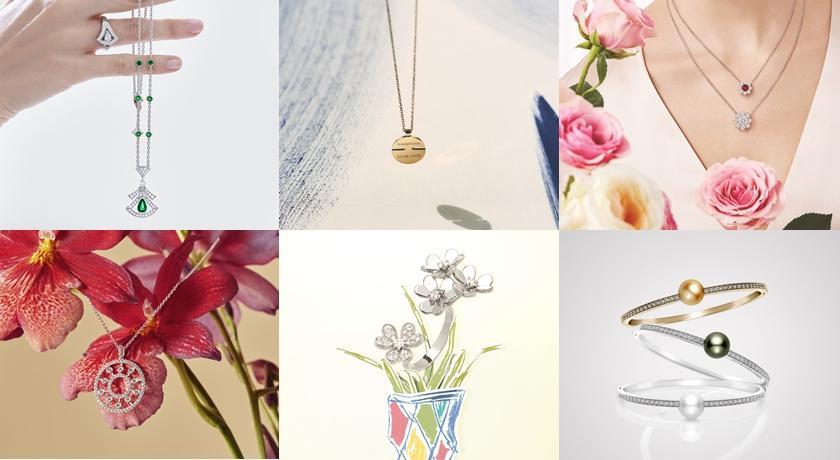 可愛小花戒指、溫潤珍珠耳環!母親節送禮「精巧珠寶」盤點