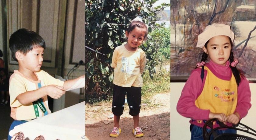 韓國兒童節大明星「曬可愛」!太妍從小美到大、宋仲基萌照直接抱緊處理