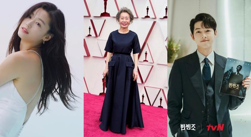 韓國演員搜尋度「她」最高!宋仲基靠《文森佐》衝第二、全智賢沒演戲也入榜?