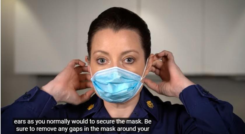 (影音)不用戴兩層!美國CDC傳授「立體摺法」 30秒提升平面口罩密合度