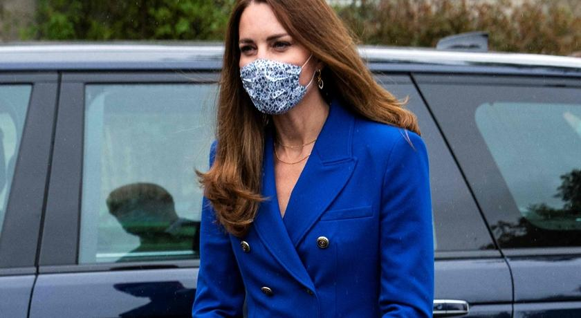 凱特王妃再穿「皇室藍」驚豔外媒!一看才台幣兩千元被讚爆