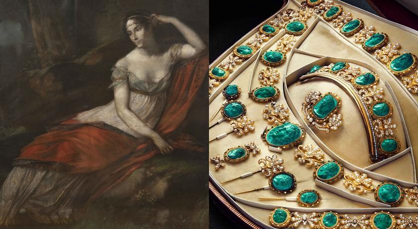 拿破崙逝世200年「畫作裡的耳環」曝!原來約瑟芬最愛這個