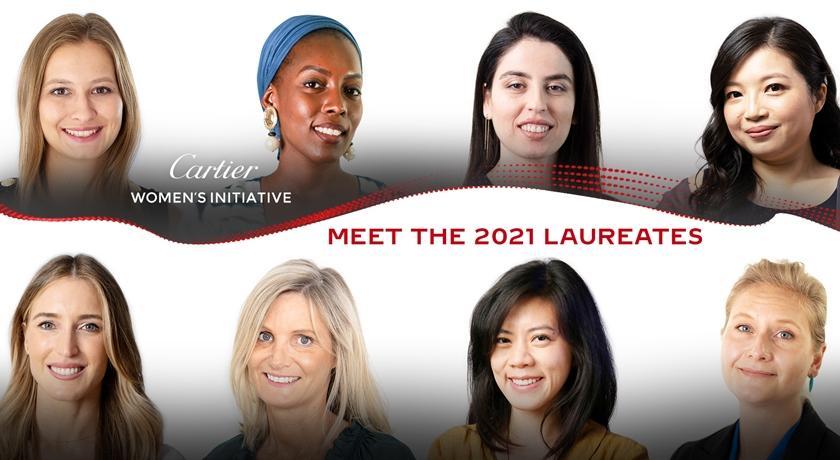 揭曉「女性創業家獎」全球僅八位獲獎!其中有一位來自台灣