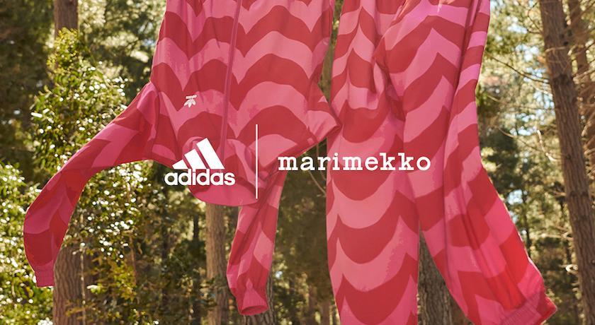 讓超繽紛印花幫你打氣!adidas x marimekko聯名好吸睛