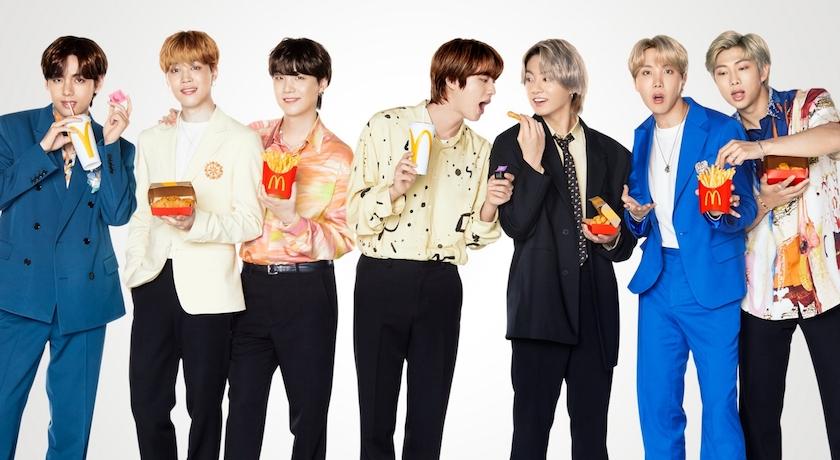 BTS麥當勞套餐掀炒賣!一塊雞塊「破百萬」、包裝紙袋也搶翻?