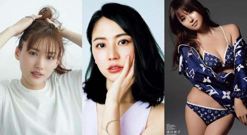 日本最正黃金剩女!網友盼這三位女星可以「單身久一點」