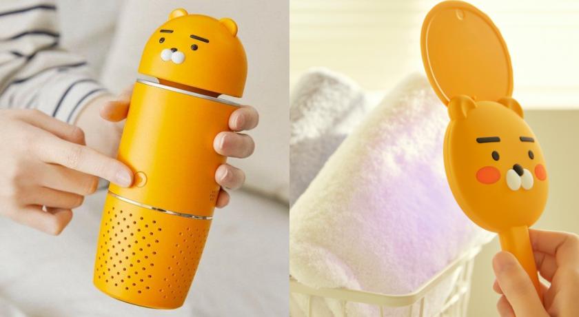KAKAO FRIENDS「萊恩防疫小物」宅配到家!紫外線殺菌器實用又可愛