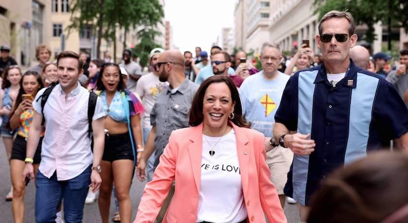 賀錦麗為同志平權走上街!「訴求寫身上」不改親民風格網讚爆