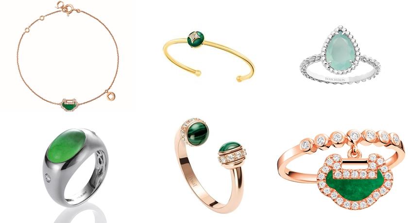一戴上彷彿立刻降溫 5 度!最適合夏天的「綠色系珠寶」盤點
