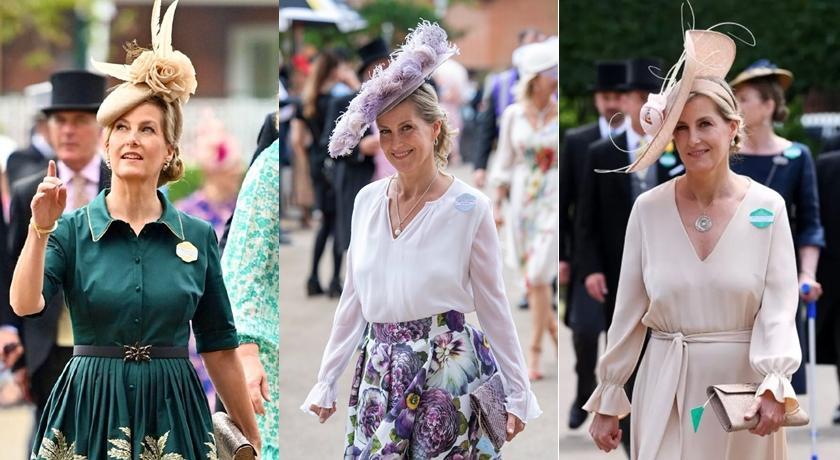 皇家賽馬會女王、凱特缺席!蘇菲伯爵夫人接棒撐起「最佳衣著」